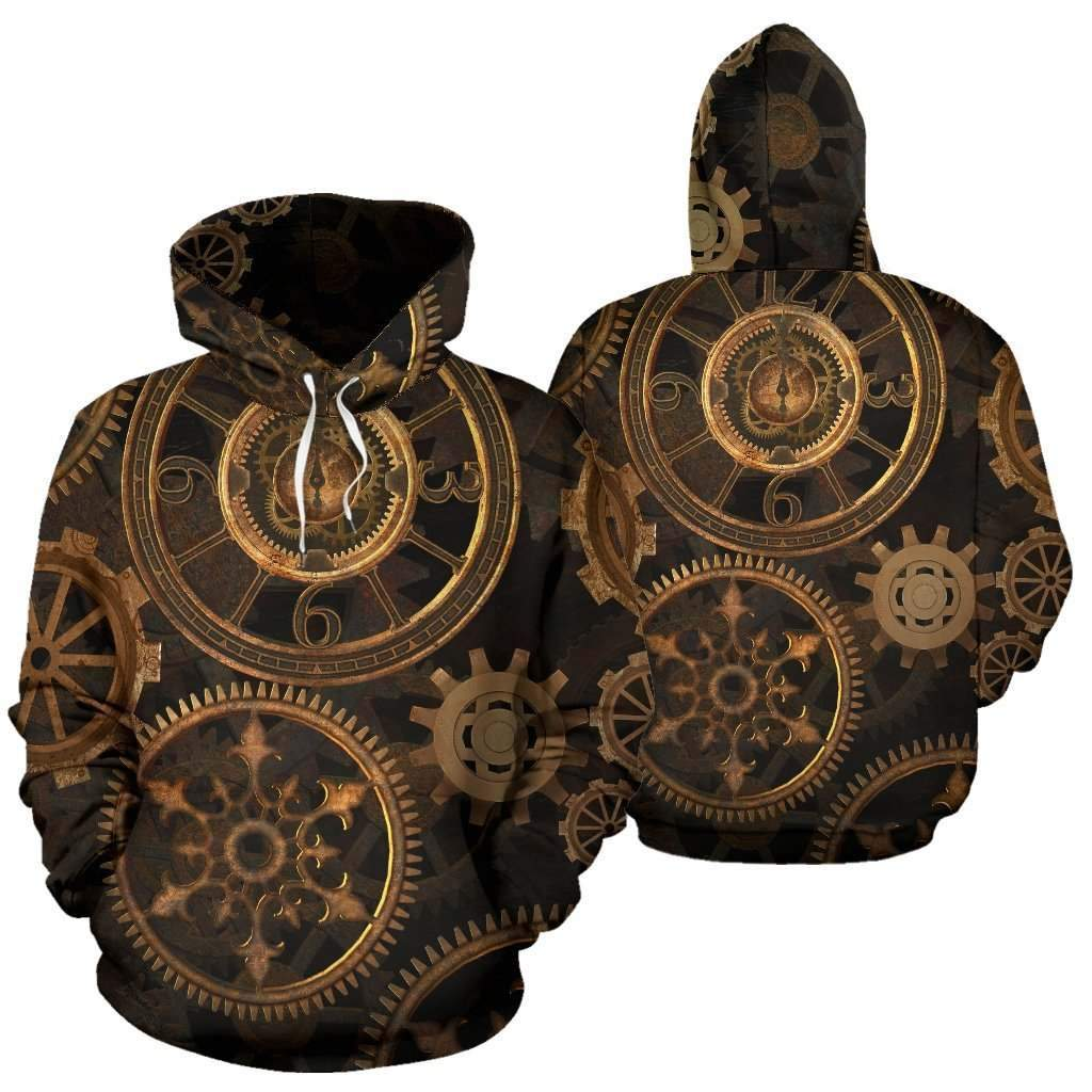 Steampunk Gears Hoodies MP867-Apparel-MP-Hoodie-S-Vibe Cosy™