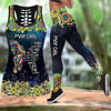 May Girl Butterfly Combo Tank Top And Legging