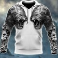 Lion Tattoo 3D All Over Printed Shirts For Men and Women DQB08042001