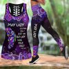 May Lady Butterfly Combo Tank Top And Legging