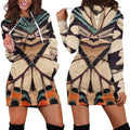 3D All Over Butterflies Hoodie Dress Leggings Blanket NNK-Apparel-NNK-Hoodie Dress-S-Vibe Cosy™