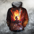 3D All Over Print Dragon Temple-Apparel-PHLong-Hoodie-S-Vibe Cosy™
