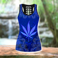 Hippie Royal Blue 3D All Over Printed Hoodie Shirt by SUN HAC280303-Apparel-SUN-Hollow Tank Top-S-Vibe Cosy™