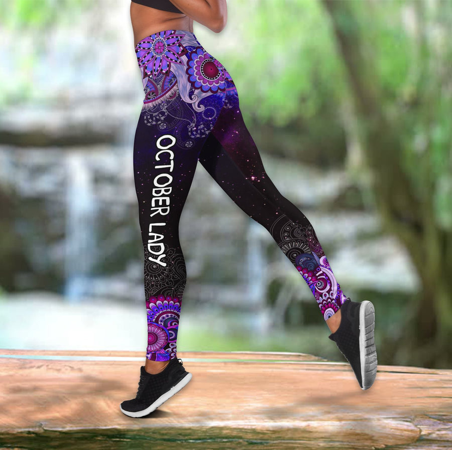 October Lady Combo Tank Top + Legging DQB08182005S