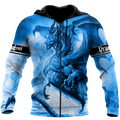Blue Dragon Ice Dragon 3D All Over Printed Shirts For Men and Women DQB20122004
