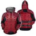 3D All Over Printed Samurai Armor for Men and Women-Apparel-HP Arts-Hoodie-S-Vibe Cosy™