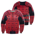 3D All Over Printed Samurai Armor for Men and Women-Apparel-HP Arts-Sweatshirt-S-Vibe Cosy™