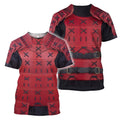 3D All Over Printed Samurai Armor for Men and Women-Apparel-HP Arts-T-Shirt-S-Vibe Cosy™