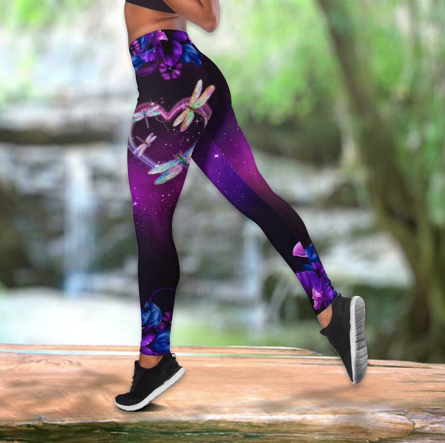 Beautiful Dragonflies Combo Legging + Tank Top DQB08292001