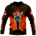 Canada Motorcycle 3D Hoodie HHT29072001-LAM-Apparel-LAM-Zipped Hoodie-S-Vibe Cosy™