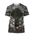 Irish Armor Warrior Chainmail 3D All Over Printed Shirts For Men and Women AM250204-Apparel-TT-T-Shirt-S-Vibe Cosy™