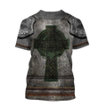 Irish Armor Warrior Chainmail 3D All Over Printed Shirts For Men and Women AM250204-Apparel-TT-Hoodie-S-Vibe Cosy™