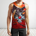 3D All Over Print Celtic Dragon-Apparel-NTT-Tank Top-S-Vibe Cosy™