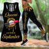 September-Queens Are Born In September Combo Tank Top + Legging DQB08082011S