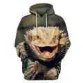 3D All Over Print Central Bearded Dragon-Apparel-HbArts-Hoodies-S-Vibe Cosy™