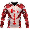 Canada 3dall over printed maple leaf generation-Apparel-PL8386-Hoodie-S-Vibe Cosy™