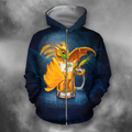 3D All Over Print Den Here Be Dragons 3-Apparel-PHLong-Zip-S-Vibe Cosy™