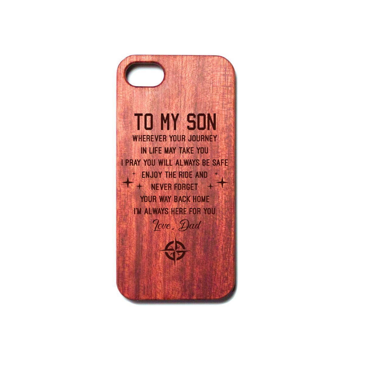 SON DAD - ENJOY THE RIDE - PHONE CASE-phonecase-Ocean Gadget™-iPhone 5-Vibe Cosy™
