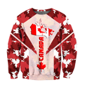 Canada 3dall over printed maple leaf generation-Apparel-PL8386-Sweat Shirt-S-Vibe Cosy™