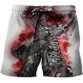 3D All Over Printed Templar Shirts-Apparel-HP Arts-SHORTS-S-Vibe Cosy™