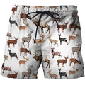 3D All Over Printed Hunting Deer Shirts and Shorts-Apparel-6teenth World-SHORTS-S-Vibe Cosy™