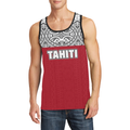 Tahiti Polynesian All Over Hoodie - BN09-Apparel-Khanh Arts-Tank Top-S-Vibe Cosy™