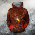 3D All Over Print Deathwing On Fire-Apparel-PHL-Hoodie-S-Vibe Cosy™