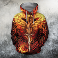 3D All Over Print Dragon Art 1-Apparel-PHLong-Hoodie-S-Vibe Cosy™