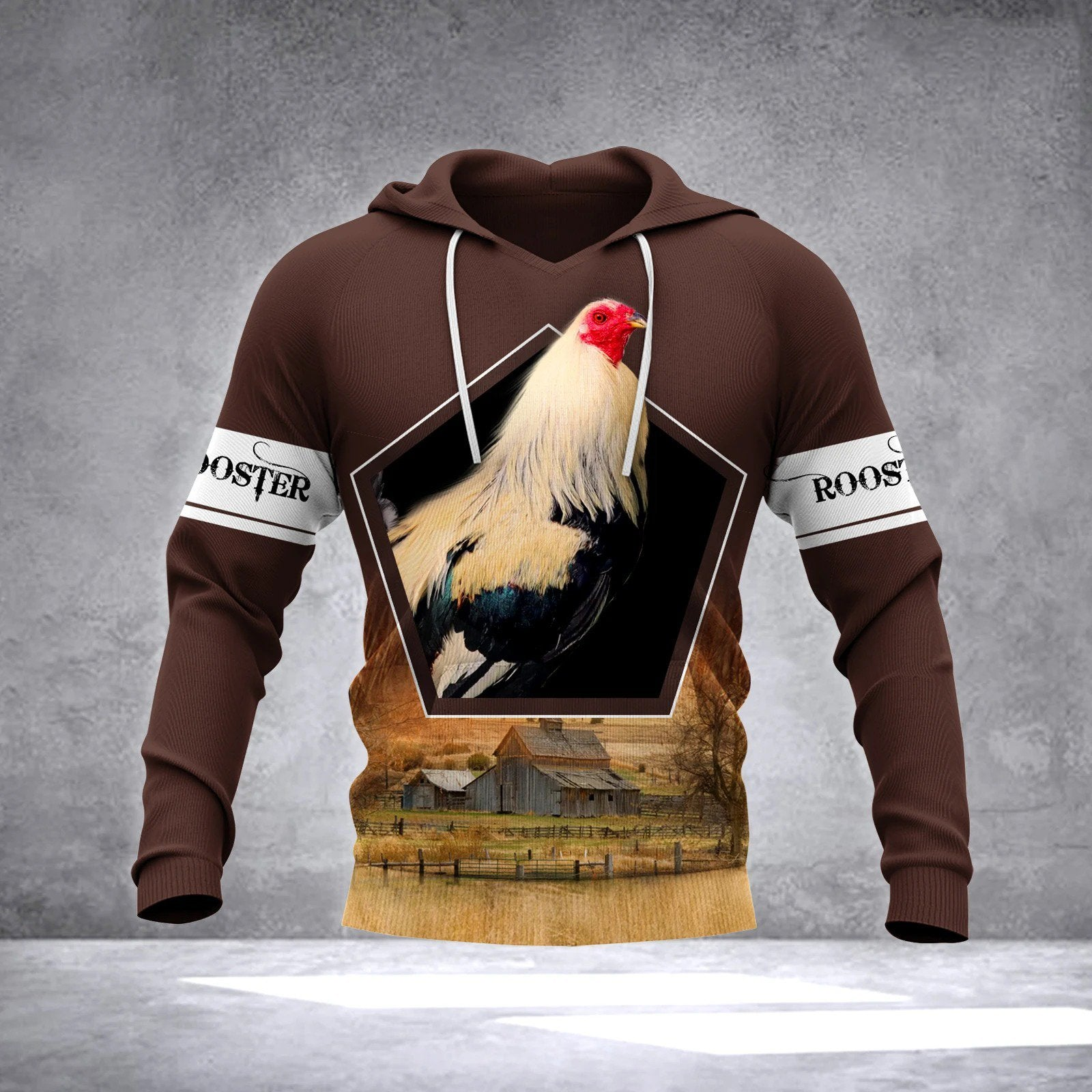 ROOSTER 3D All Over Printed Shirts for Men and Women TT241202-Apparel-TT-Hoodie-S-Vibe Cosy™