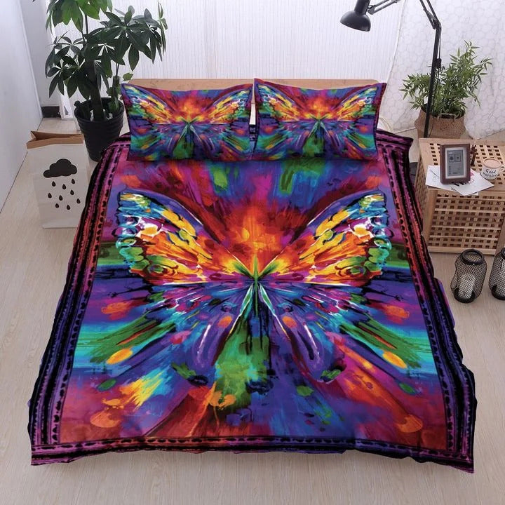 Butterfly bedding set HG71110-HG-US Twin-Vibe Cosy™