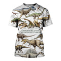 3D All Over Printed Dinosaurs Shirts and Shorts-3D All Over Printed Clothes-HP Arts-T-shirt-XS-Vibe Cosy™