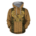 3D Printed Eye Of Horus Clothes TA004-Apparel-TA-Hoodie-S-Vibe Cosy™