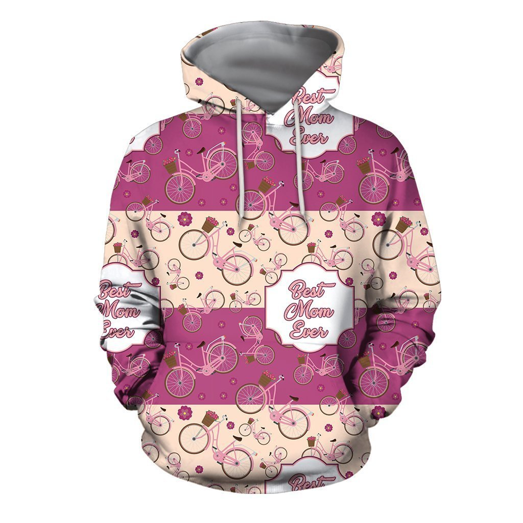 3D All Over Best Mother Ever Hoodie-Apparel-Khanh Arts-Hoodie-S-Vibe Cosy™