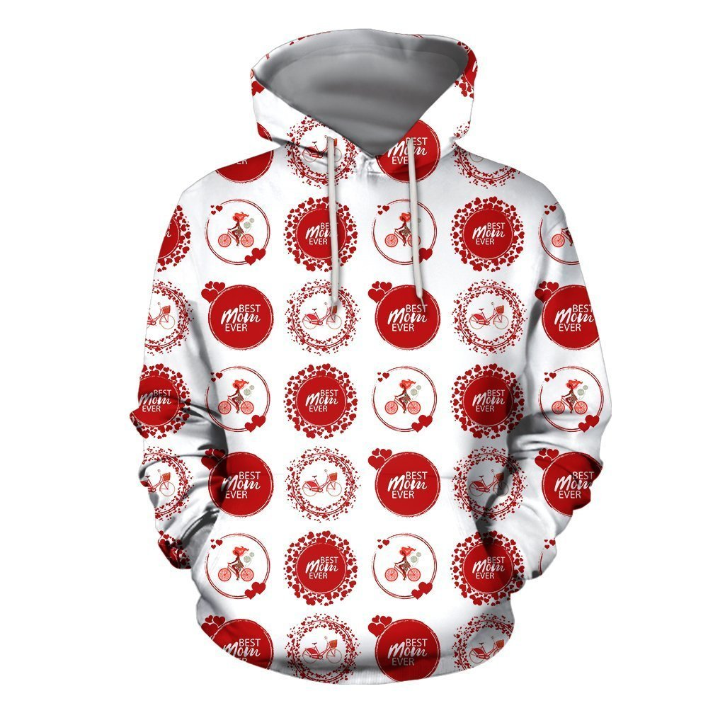 3D All Over Best Mom Ever Hoodie-Apparel-Khanh Arts-Hoodie-S-Vibe Cosy™