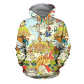 3D All Over Print Anime Japan Hoodie-Apparel-Khanh Arts-Hoodie-S-Vibe Cosy™