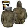 3D All Over Printed WW2 Paratroopers Uniform-Apparel-HP Arts-Hoodie-S-Vibe Cosy™