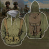 3D All Over Printed U.S. WWII Soldier Shirts-Apparel-HP Arts-Hoodie-S-Vibe Cosy™