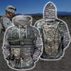 3D Printed Airborne Uniform Clothes-Apparel-HP Arts-Hoodie-S-Vibe Cosy™