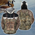 3D All Over Printed Goose Hunting Camo Outfit Cover-Apparel-HP Arts-Zipped Hoodie-S-Vibe Cosy™