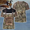 3D All Over Printed Goose Hunting Camo Outfit Cover-Apparel-HP Arts-T-Shirt-S-Vibe Cosy™