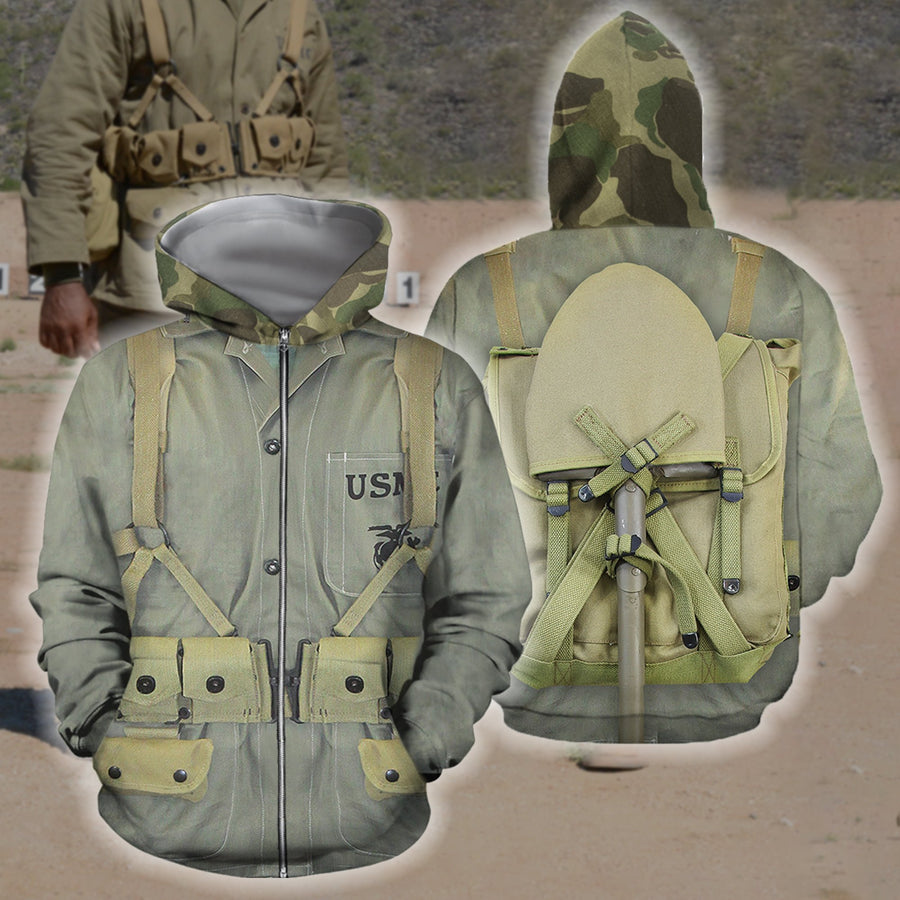 3D All Over Printed US Marine Corps-Apparel-HP Arts-Hoodie-S-Vibe Cosy™