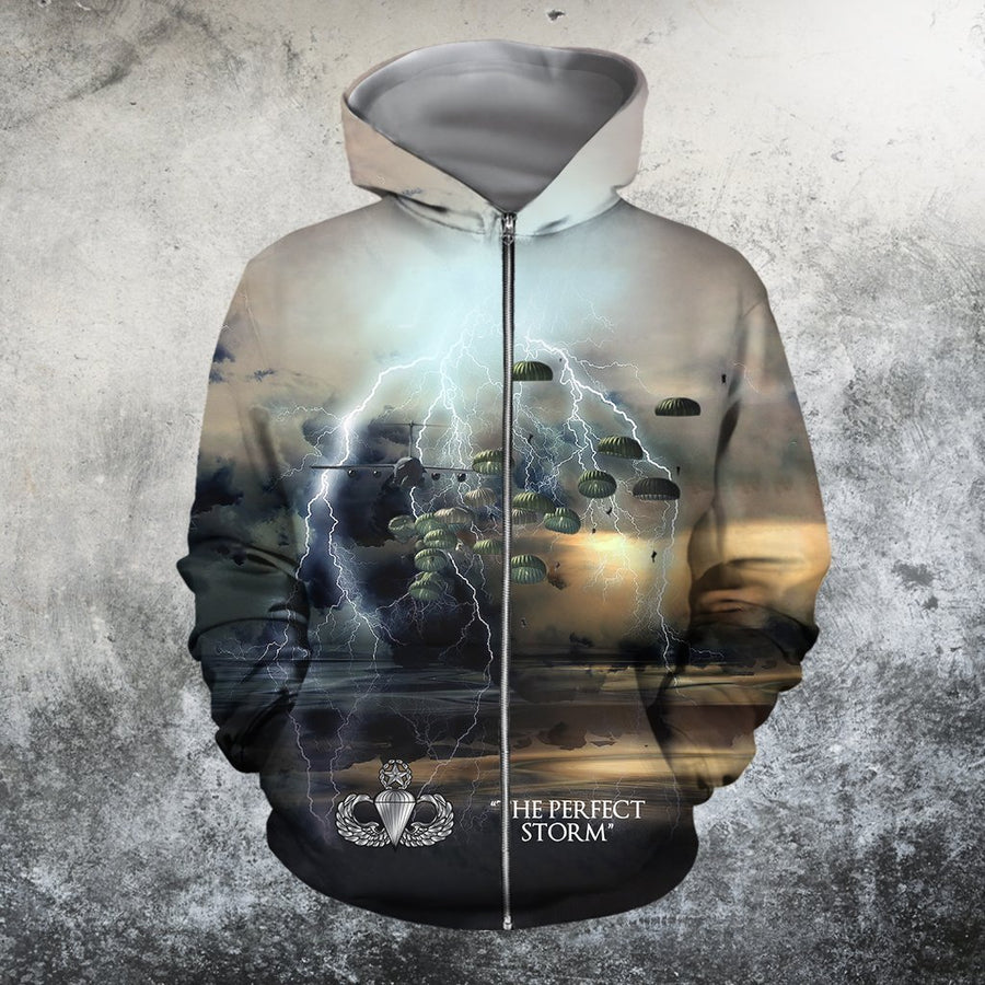 3D All Over Printed The Perfect Storm Hoodie-Apparel-HP Arts-Hoodie-S-Vibe Cosy™