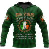Irish St.Patrick 3d hoodie shirt for men and women DD11162001