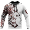 Tattoo Wolf Hoodie T Shirt For Men and Women HAC290502-NM