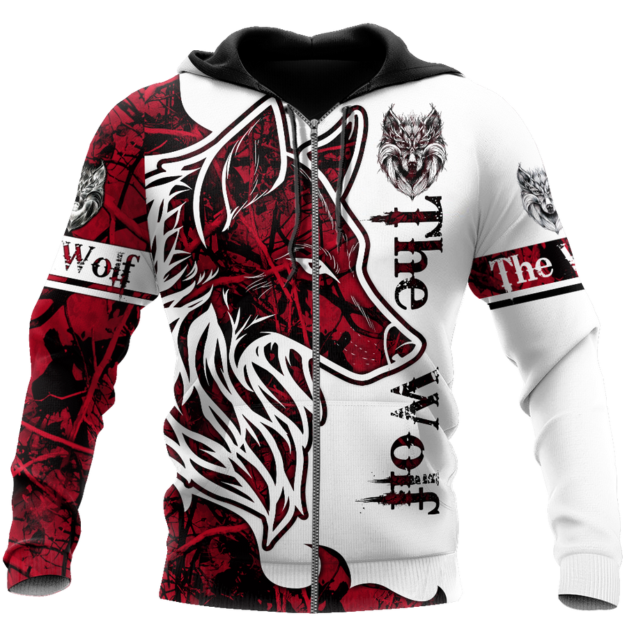 Wolf Tattoos Hoodie T Shirt For Men and Women Pi230401 - Amaze Style™-Apparel