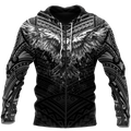 Eagle Tatoo Hoodie 3D All Over Printed Shirts For Men Pi25072002-LAM-Apparel-LAM-Zipped Hoodie-S-Vibe Cosy™