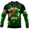 Irish St.Patrick day 3d hoodie shirt for men and women HVT31102001