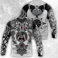 All Over Printed Viking Tattoo Shirts-Apparel-HP Arts-Hoodie-S-Vibe Cosy™