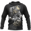 Tattoo Is My Life And Skull Is My Love PL213-Apparel-PL8386-Hoodie-S-Vibe Cosy™
