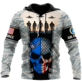 US Air Force skull 3d all over printed for man and women Pi270203 PL-Apparel-PL8386-Hoodie-S-Vibe Cosy™
